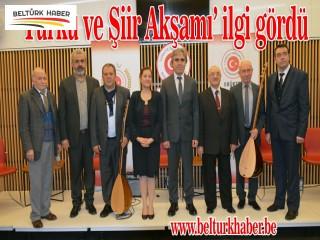 Türkü ve Şiir Akşamı ilgi gördü