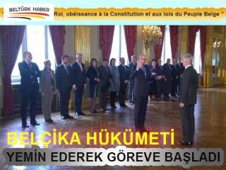 Yeni Belçika hükümeti yemin etti