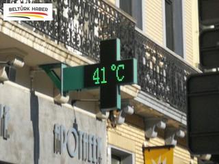 Belçika'da sıcaklık rekoru