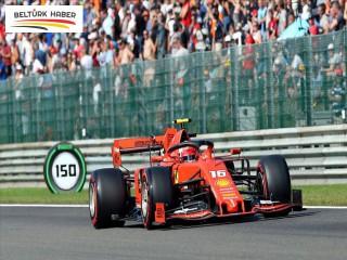 Belçika'da pole pozisyonu Leclerc'in