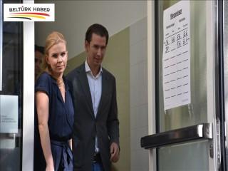 Avusturya'da seçimlerin kazananı Sebastian Kurz