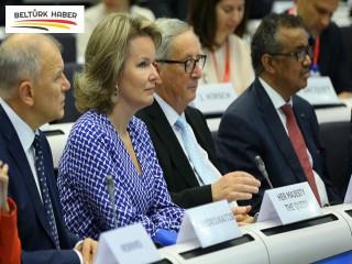 Brüksel'de Küresel Aşı Zirvesi düzenlendi