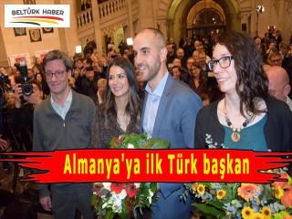 Almanya'ya ilk Türk başkan