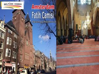 Amsterdam'daki Fatih Camisi kapılarını gayrimüslimlere açtı