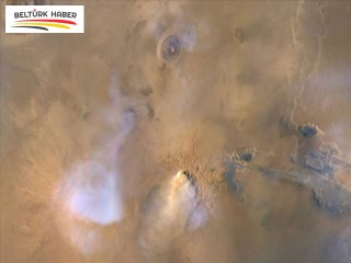 Mars'taki kum fırtınaları gezegeni 'toz kuleleriyle' kaplıyor