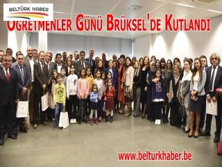 Öğretmenler Günü Brüksel'de Kutlandı