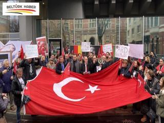 Almanya'da Atatürk'e yönelik yapılan çirkin yayın protesto edildi