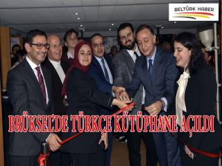 Brüksel'de Türkçe kütüphane açıldı