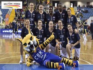 Çukurova Basketbol, Charleroi'da tutunamadı 90-59
