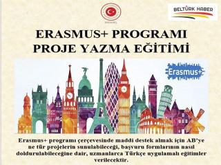 Erasmus+ Proje Yazma Eğitimi Verilecek