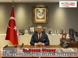 Büyükelçi Hasan Ulusoy göreve başladı