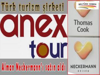 Türk turizm şirketi Anex Tour, Alman Neckermann'ı satın aldı