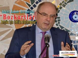 """Adalet Bakanı Koen:""""Bozkurtlar Belçika siyasetine sızmıyor"""""""