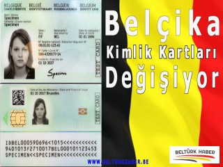 Belçika Kimlik Kartları Değişiyor