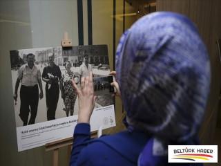 'Sandıktaki Fotoğraflar Unutulmayan Göç Hatıraları' sergisi açıldı