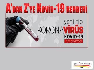 A'dan Z'ye Kovid-19 rehberi