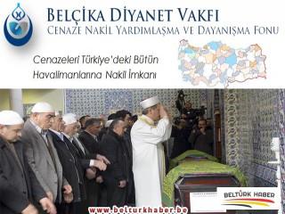 Belçika Diyanet Vakfı Cenaze Nakil Fonu Duyurusu