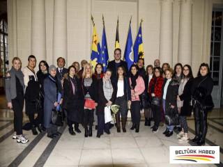 Brüksel Parlamentosunu Gezdiler