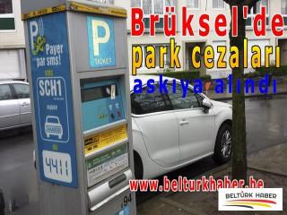 Brüksel'de park cezaları askıya alındı