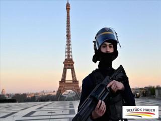 Fransa'da asker sokağa indi