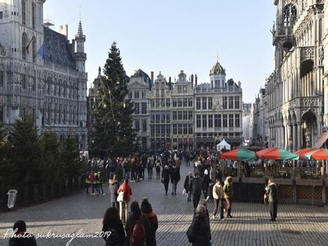 Brüksel Kış Eğlenceleri- Plaisirs d'Hiver 2019